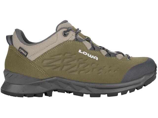 Lowa Explrr GTX Zapatillas Trekking Bajas Hombre, olive/grey